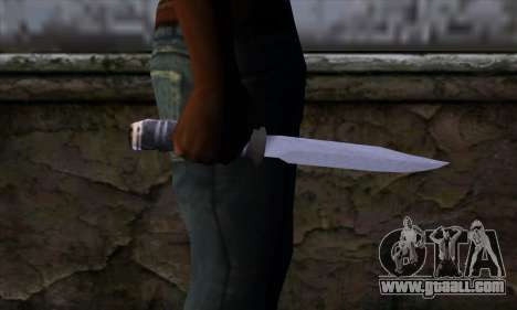 Long knife for GTA San Andreas third screenshot