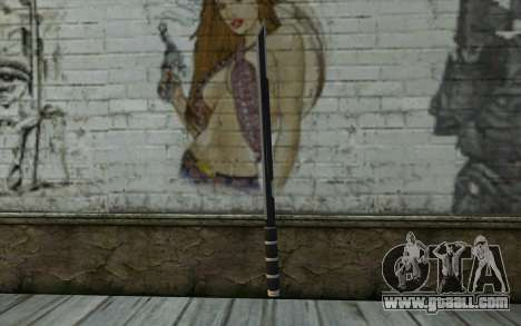 Katana from Deadpool for GTA San Andreas