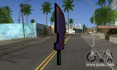 Cartoon sword for GTA San Andreas second screenshot