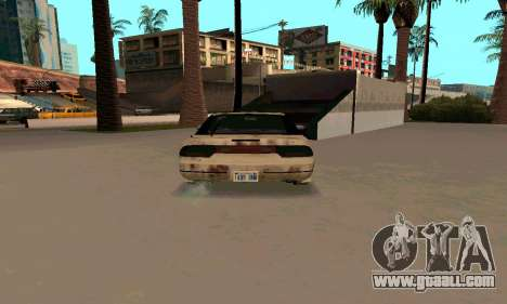 Nissan 240SX Rusted for GTA San Andreas right view
