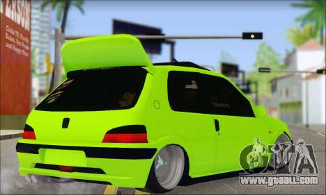 Peugeot 106 GTI JDM STYLE for GTA San Andreas left view