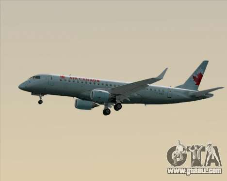 Embraer E-190 Air Canada for GTA San Andreas upper view