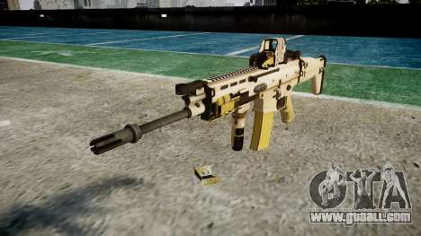 Machine FN SCAR-L Mk 16 target icon1 for GTA 4