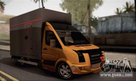 Volkswagen Crafter for GTA San Andreas