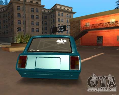 VAZ 2104 Falken for GTA San Andreas left view