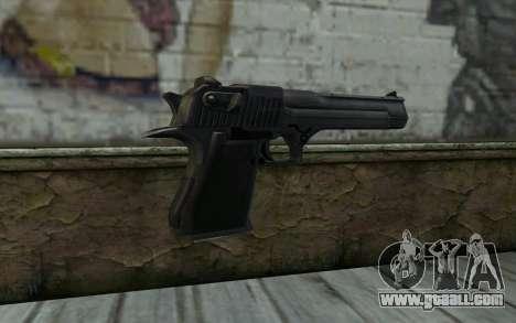 Desert Eagle Standart v2 for GTA San Andreas second screenshot
