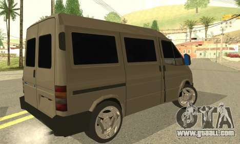 Ford Transit 1997 Medium Roof for GTA San Andreas left view