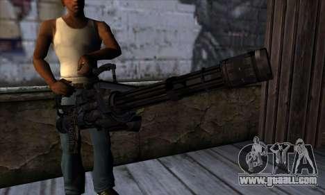 Gun Volcano v1 for GTA San Andreas third screenshot