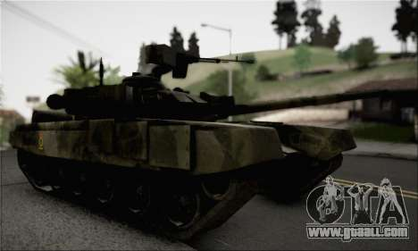 PT-91M Pendekar Tank for GTA San Andreas