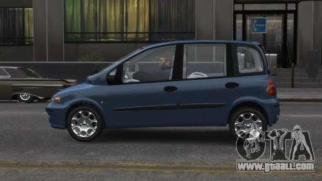 Fiat Multipla for GTA 4 left view