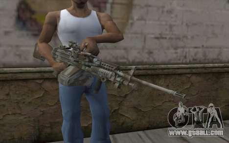 Minigun MK48 for GTA San Andreas third screenshot