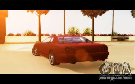 Elegy By Next for GTA San Andreas back left view