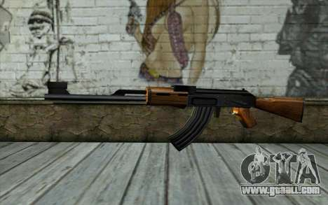 Retextured AK47 for GTA San Andreas