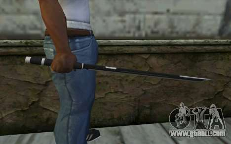 Katana from Deadpool for GTA San Andreas third screenshot
