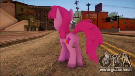 Berrypunch from My Little Pony for GTA San Andreas second screenshot
