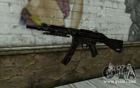 MP5 for GTA San Andreas