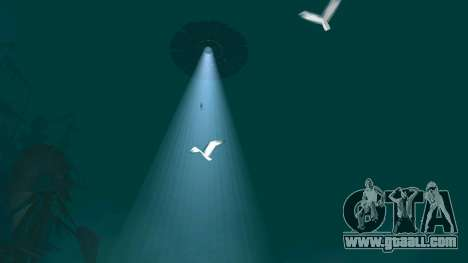 UFO over San Andreas for GTA San Andreas seventh screenshot
