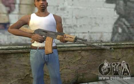 AK-74 Standart for GTA San Andreas third screenshot