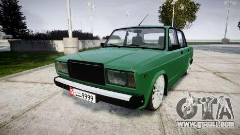 VAZ-2107 lower for GTA 4