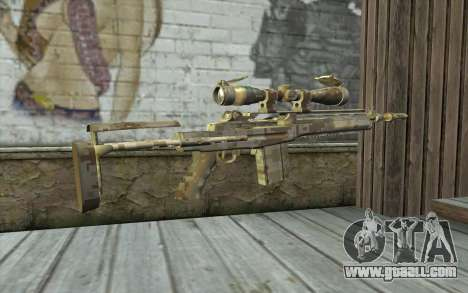 M14 EBR Digidesert for GTA San Andreas second screenshot