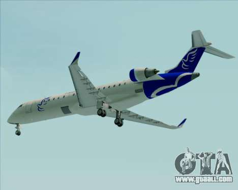 Embraer CRJ-700 China Express Airlines (CEA) for GTA San Andreas bottom view