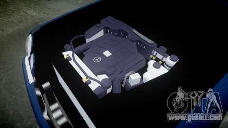 Mercedes-Benz W210 E55 2000 AMG Vossen VVS CVT for GTA 4 inner view