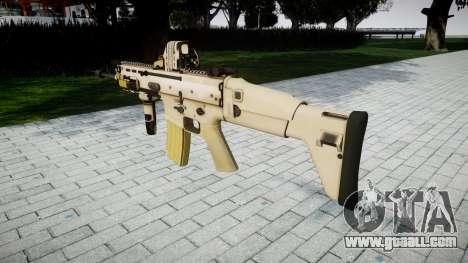 Machine FN SCAR-L Mk 16 target icon3 for GTA 4 second screenshot