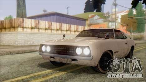 GTA 5 Vigero for GTA San Andreas