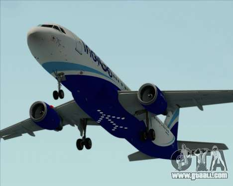 Airbus A320-200 IndiGo for GTA San Andreas engine