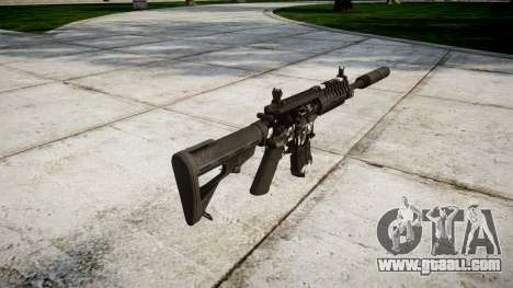 Machine P416 silencer PJ3 for GTA 4 second screenshot