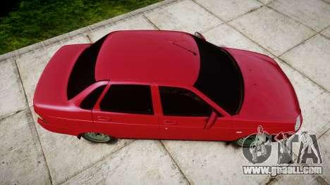 VAZ-2170 obarska for GTA 4 right view