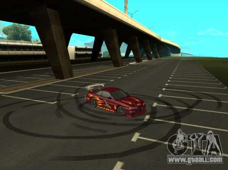 Nissan 200SX FnF1 (Letty car) for GTA San Andreas right view