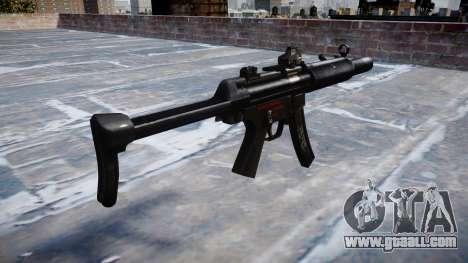 Gun MP5SD DRS FS b target for GTA 4 second screenshot