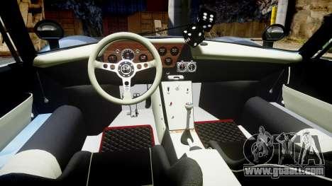 Alfa Romeo 33 Stradale for GTA 4 back view