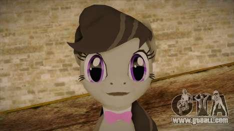 Octavia from My Little Pony for GTA San Andreas third screenshot