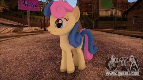 BonBon from My Little Pony for GTA San Andreas