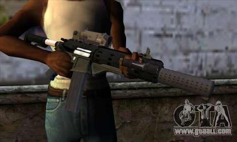 Carbine Rifle from GTA 5 v1 for GTA San Andreas third screenshot