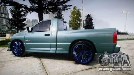 Dodge Ram for GTA 4 left view