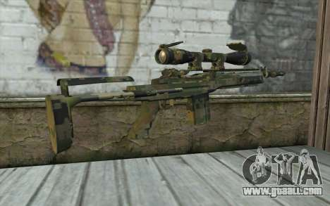 M14 EBR Digiwood for GTA San Andreas second screenshot