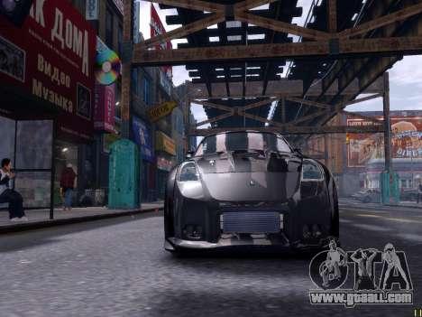 Nissan 350Z Tokyo Drift for GTA 4 left view
