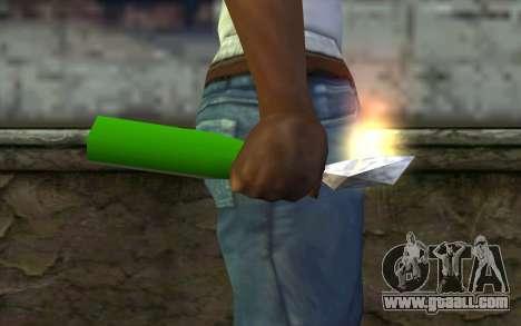 Molotov Cocktail from GTA Vice City for GTA San Andreas third screenshot