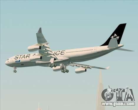 Airbus A340-300 All Nippon Airways (ANA) for GTA San Andreas bottom view