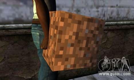 Block (Minecraft) v9 for GTA San Andreas third screenshot