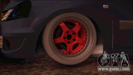 Dacia Logan MCV Tuning for GTA San Andreas back left view