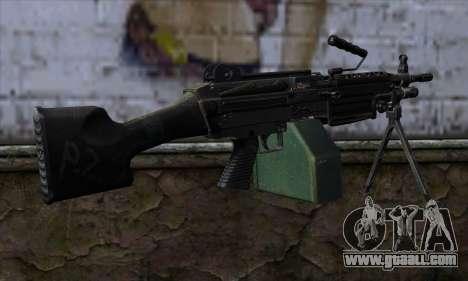 M249 v2 for GTA San Andreas second screenshot