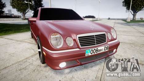 Mercedes-Benz W210 E55 2000 AMG Vossen VVS CV3 for GTA 4