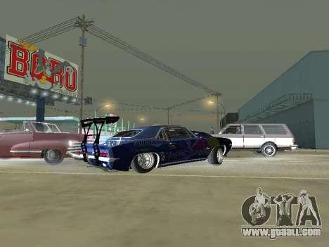 Chevrolet Camaro SS RedBull for GTA San Andreas left view