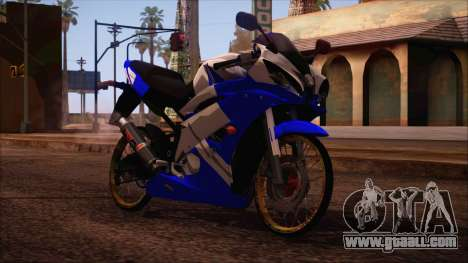 Yamaha R15 Modif for GTA San Andreas