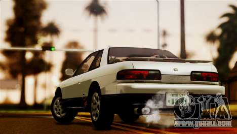 Nissan Silvia S13 1992 IVF for GTA San Andreas left view