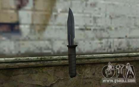 Retextured Knife for GTA San Andreas second screenshot